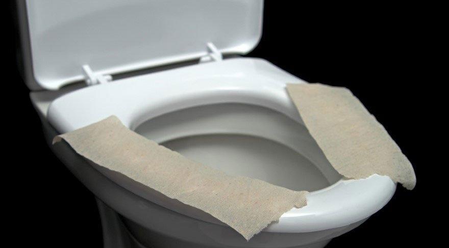 Klozette bunu yapanlar dikkat! Tuvalet kağıdı serip oturuyorsanız…