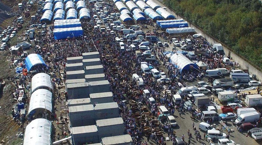 İstanbul'da 'kurbanlık' trafiği