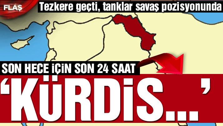 Son dakika haberi… Irak'ın kuzeyi için alarm! Barzani için saatler kaldı…