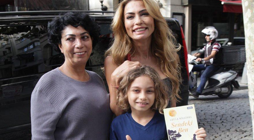 Leyla Bilginel'in kitap heyecanı