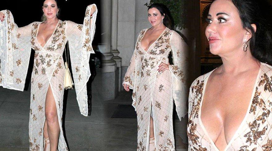 Lisa Appleton giyim tarzıyla dikkat çekti!