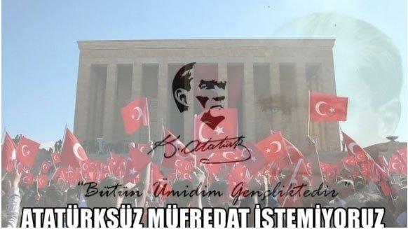 'Atatürksüz müfredat istemiyoruz' kampanyası büyüyor