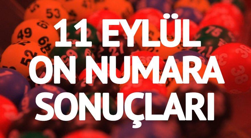 11 Eylül On Numara sonuçları MPİ tarafından açıklandı: İkramiye ikiye bölündü! Tıkla 2017 On Numara sonucu öğren!