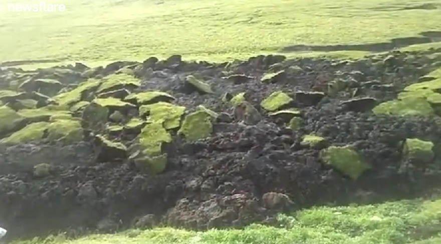 Tibet'te ısınan toprak kaydı
