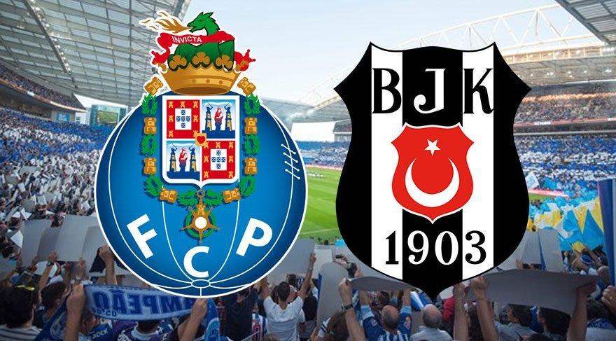 CANLI İZLE: Porto Beşiktaş maçı canlı izle! BJK maçını şifresiz canlı yayınlayacak uydu kanalları! (UEFA Şampiyonlar Ligi)