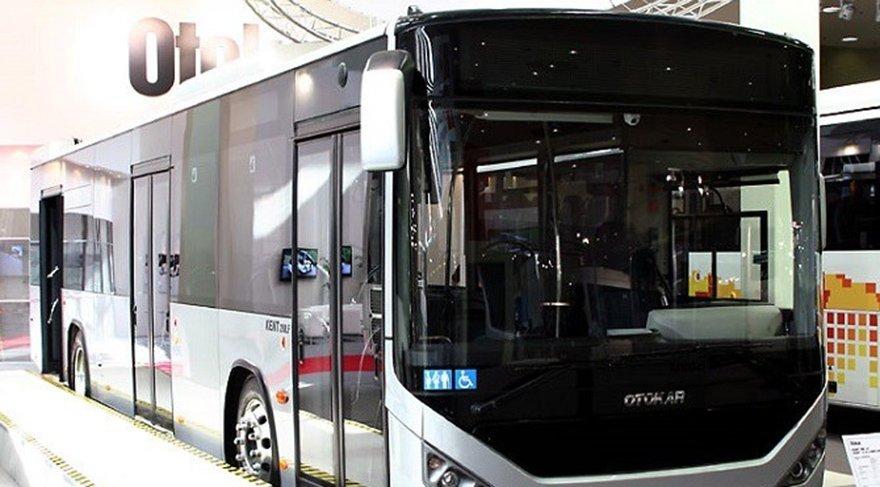 İlk elektrikli otobüs Türkiye'ye gönderildi
