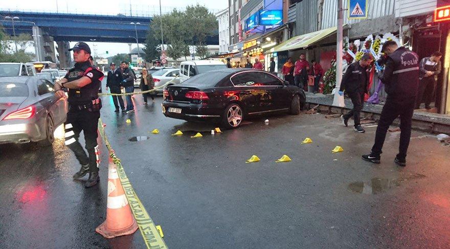 Beyoğlu'nda kafeye silahlı saldırı!