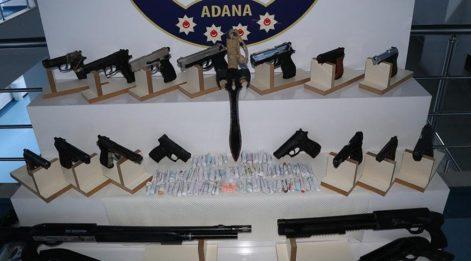 Adana'da 1700 polis ile asayiş uygulaması