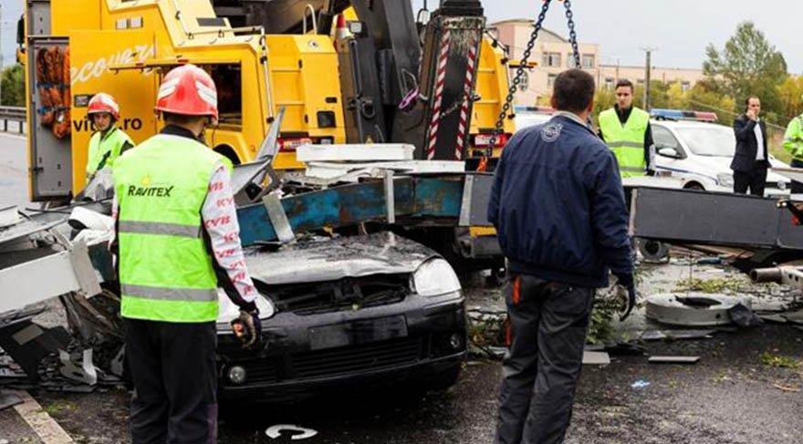 Romanya fırtına yüzünden felaketi yaşadı