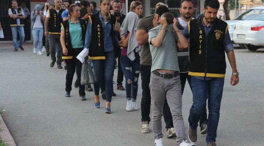 Adana'da fuhuş operasyonu! Aile boyu eskort çetesi!