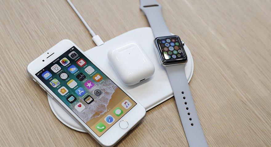 Apple'ın kablosuz şarj konsolu AirHower yıl sonunda satışa çıkacak.