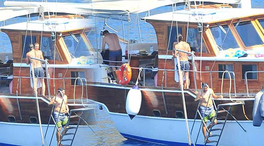 Sıla ve Ahmet Kural çifti mavi tura çıktı