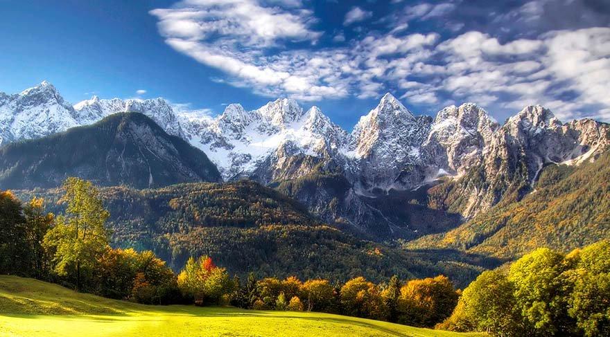 Büyülü dağları filme almak için yüzlerce kilometre yürüdü