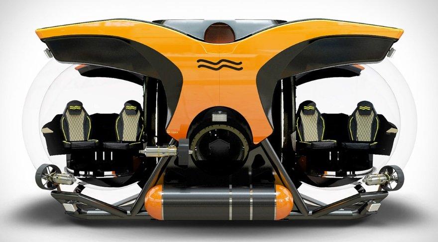 Bambaşka maceralara atılmak için: En derine dalabilen kişisel denizaltı…