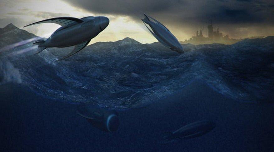 Geleceğin denizaltıları inanılmaz şekillerde olacak!