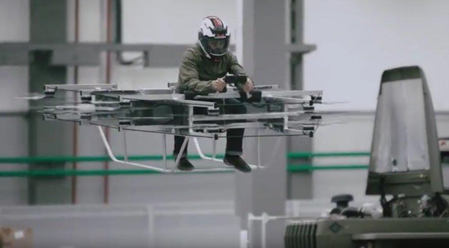 Bu Rus yapımı uçan elektrikli aracı herkes kullanabilir