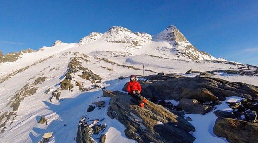Bu uçan drone'un İsviçre Alpleri videosu tüyler ürpertiyor…