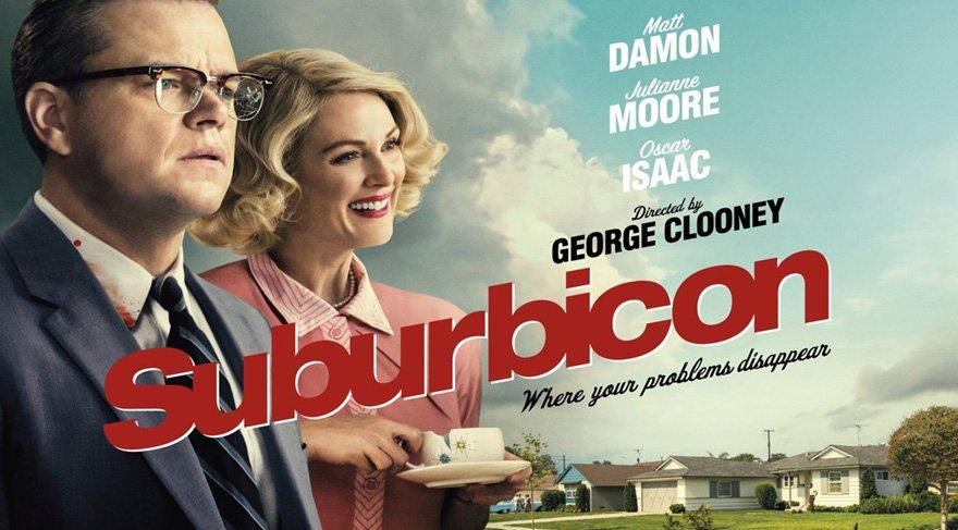 İşte 'Suburbicon' filminin rekor kıran fragmanı!
