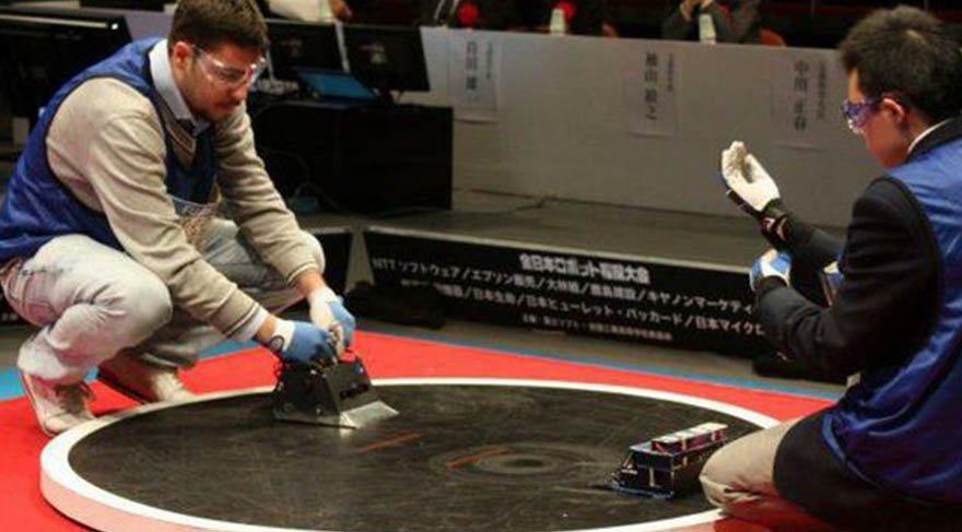 Sumo güreşi robot dünyasına taşındı