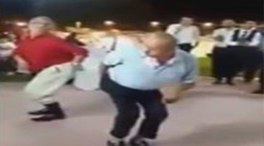 Erzurum'da bir düğündeki 'Tavuk Havası'na çok güleceksiniz!
