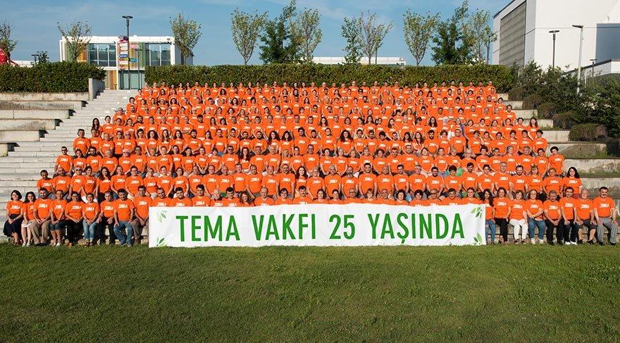 TEMA Vakfı 25 yaşında… Vakıf şimdiye kadar 14.5 milyon fidanı toprakla buluşturdu