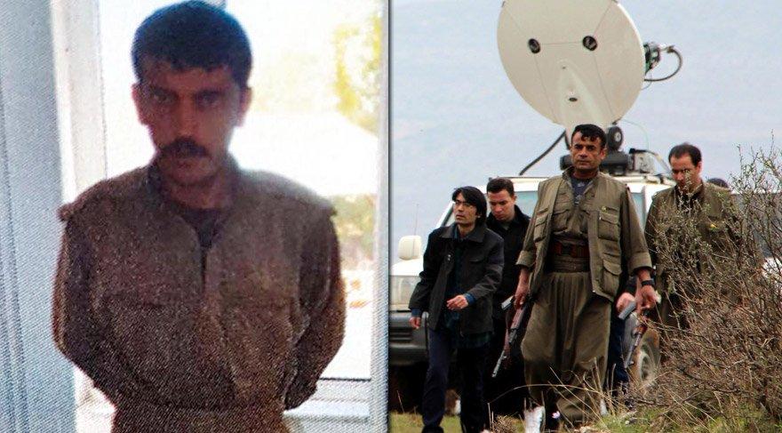PKK'lı teröristi, yağmaladığı 42 numara ayakkabı yakalatmış