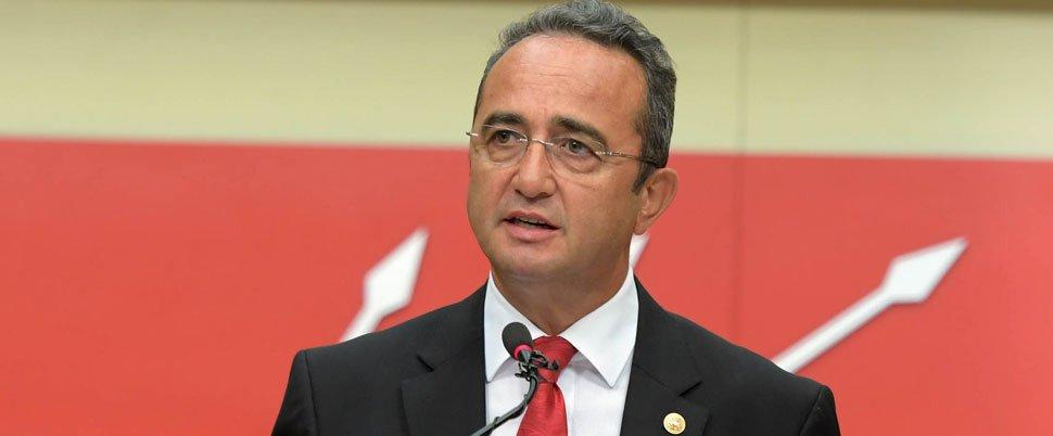 FOTO:DHA - CHP Sözcüsü Bülent Tezcan, İçişleri Bakanı Soylu'yu istifaya davet etti.