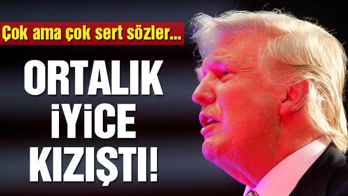 Erdoğan ve Trump yemekte bir araya geldi