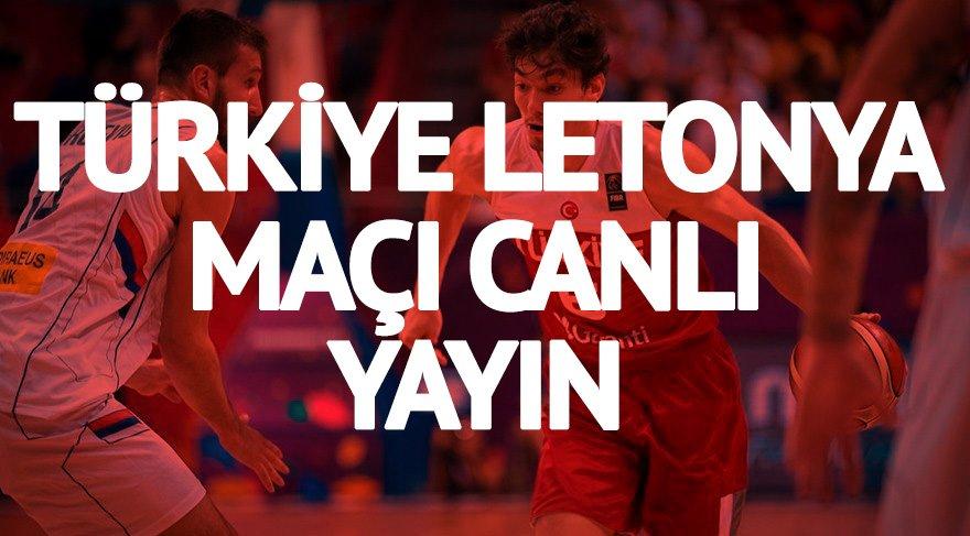 CANLI İZLE: Türkiye Letonya maçı ne zaman saat kaçta