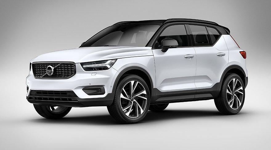 İşte Volvo'nun yeni küçük SUV'u XC40