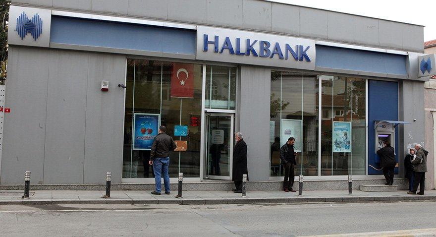 Borsada en fazla net satış Halkbank'ta yaşandı