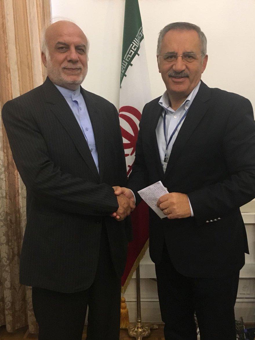 İran Dışişleri Bakan Yardımcısı İbrahim Rahimpur, Tahran'da Saygı Öztürk'e konuştu.