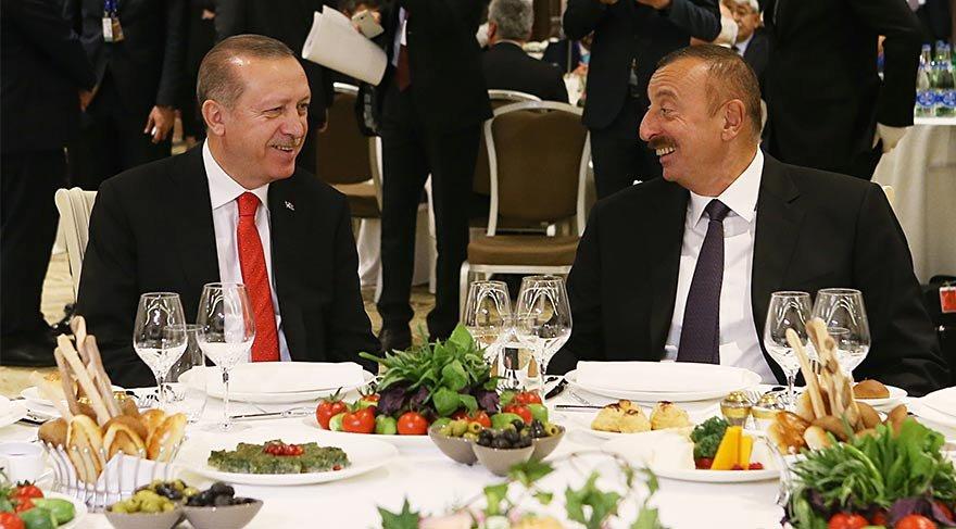 Tarihi gün! Cumhurbaşkanı Erdoğan, Bakü'de