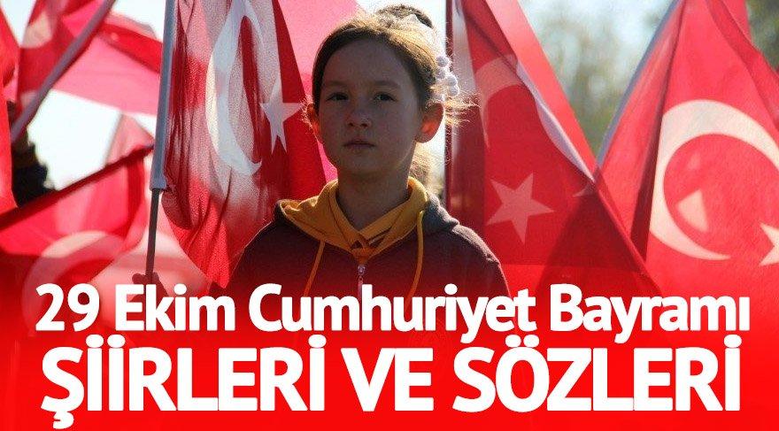 Cumhuriyet Bayramı şiirleri, 29 Ekim şiirleri! Cumhuriyet Bayramı kutlu olsun!