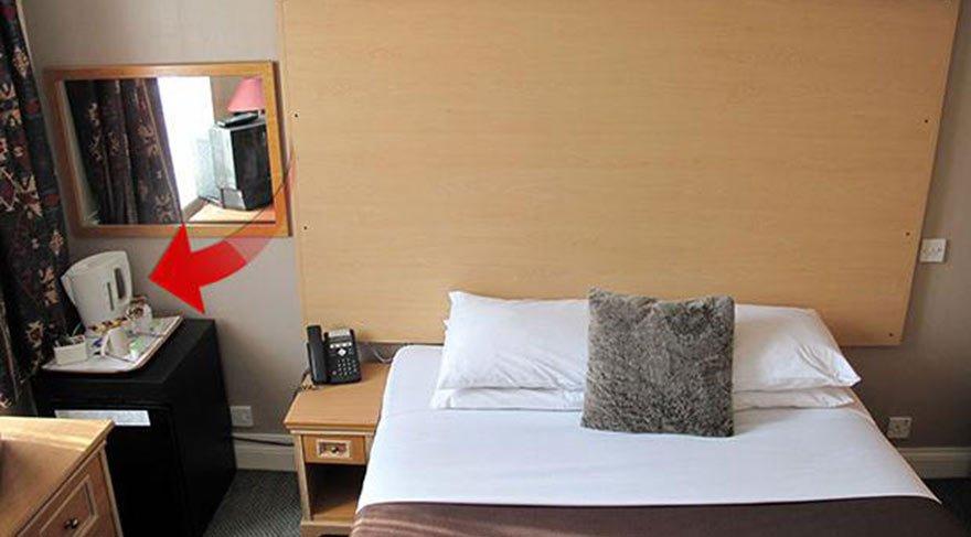Korkunç gerçek ortaya çıktı! Otel odalarındaki su ısıtıcılarda büyük tehlike