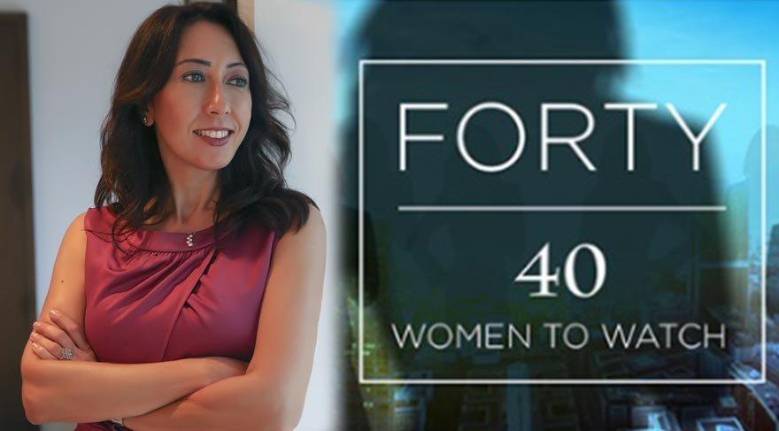 Fark yaratan 40 kadından biri oldu!