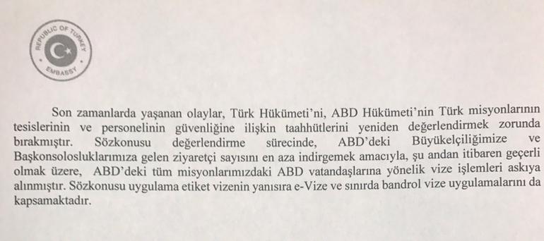 Türkiye tarafından yapılan açıklama