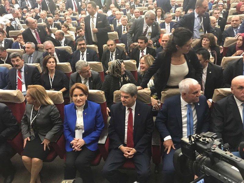 FOTO:SÖZCÜ/Yavuz ALATAN - Meral Akşener'in yayına önceki gün CHP'den istifa ederek İyi Parti'ye katılan Aytun Çıray'ın oturduğu gözlendi.