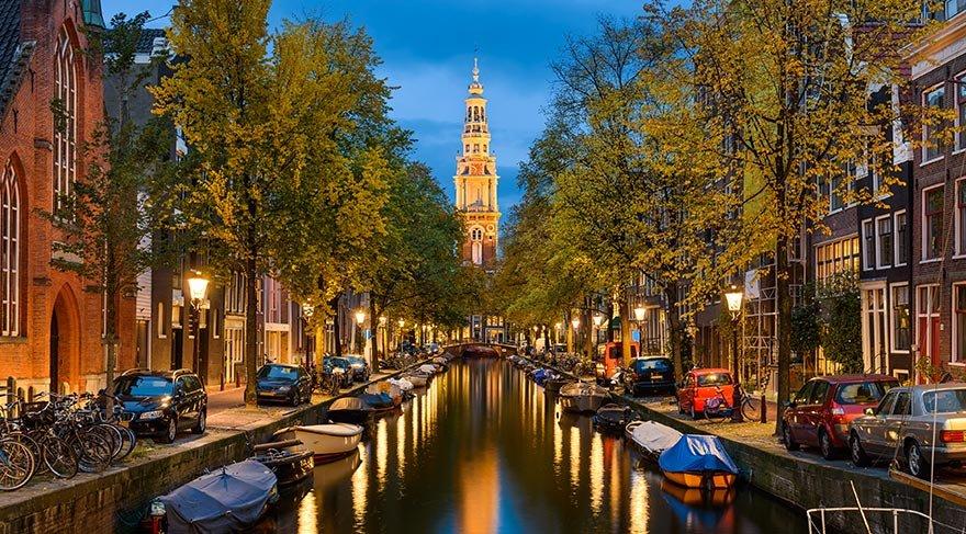 7/24 yaşayan şehir Amsterdam