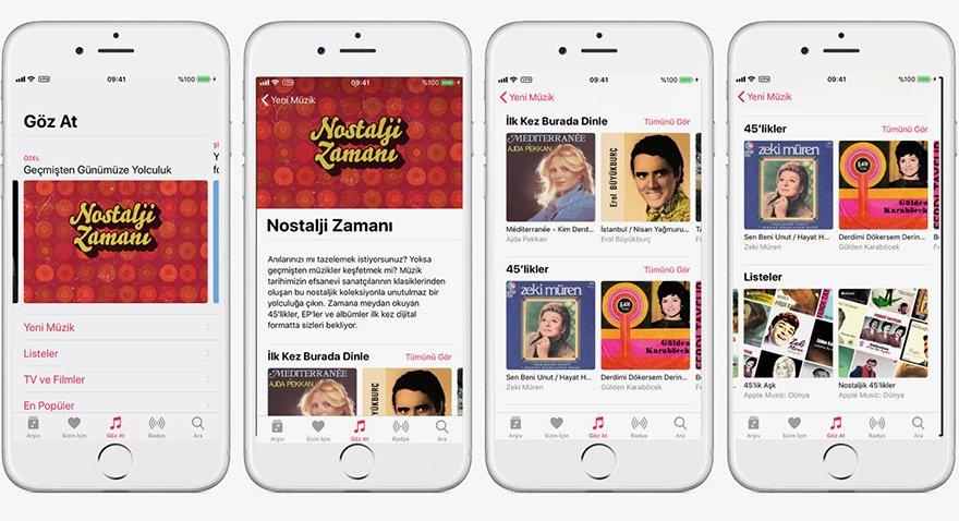 Apple'dan nostaljik hareket