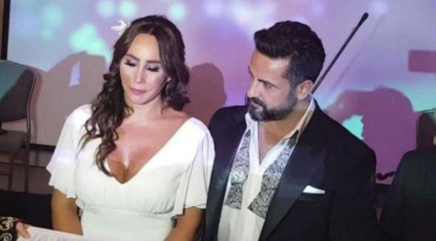 Dansöz Asena sevgilisi Hasan Dere ile evlendi