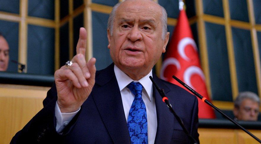 Bahçeli: 'MHP terörle mücadelede önşartsız hükümetin destekçisidir'