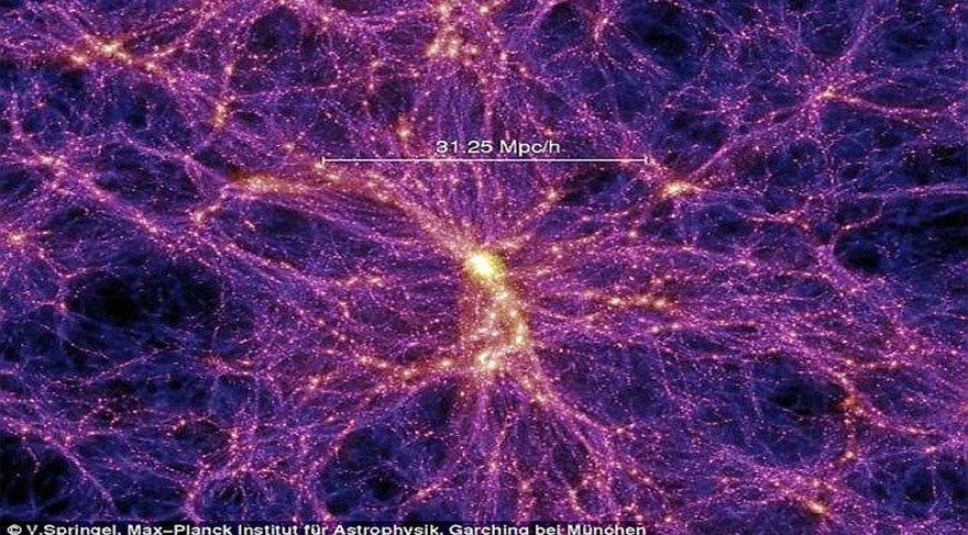 """Galaksileri birbirine bağlayan """"kayıp madde"""" sonunda bulundu: Baryon bağları"""