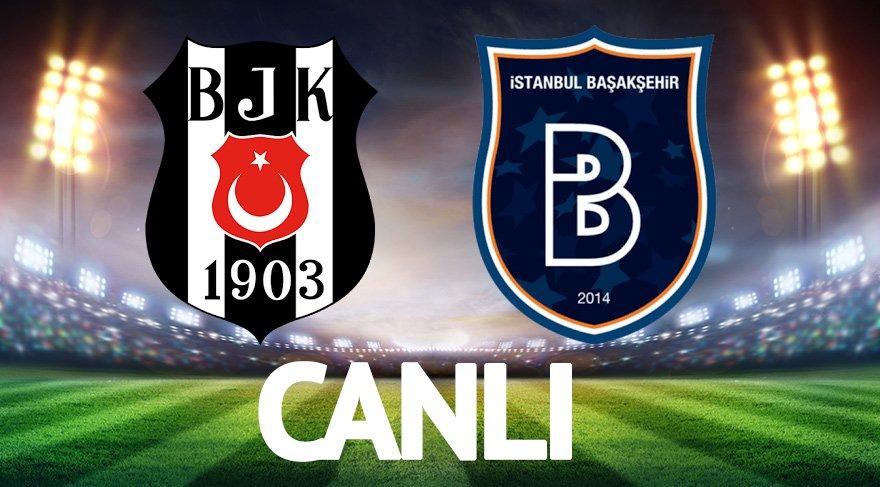 Beşiktaş Başakşehir maçı canlı izle! (Lig TV, beIN Sports canlı izle)