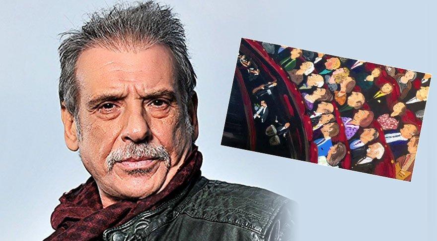 Usta oyuncu Civan Canova'dan resim sergisi