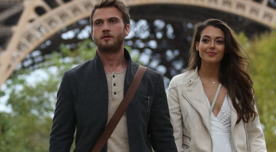 Heyecanla beklenen 'Çukur'un ilk fotoğrafları Paris'ten!