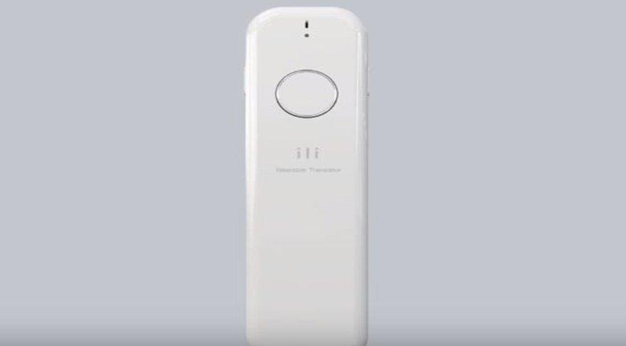 Gelecek geldi! Bu cihaz 0,2 saniyede dil tercümesi yapıyor!