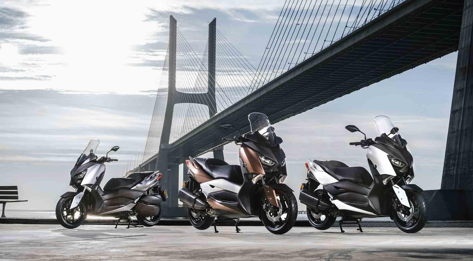 Yamaha'dan yeni X-MAX 300