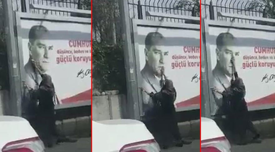 Eskişehir'de 29 Ekim'e damga vuran kare! Herkes bu kadını konuşuyor!