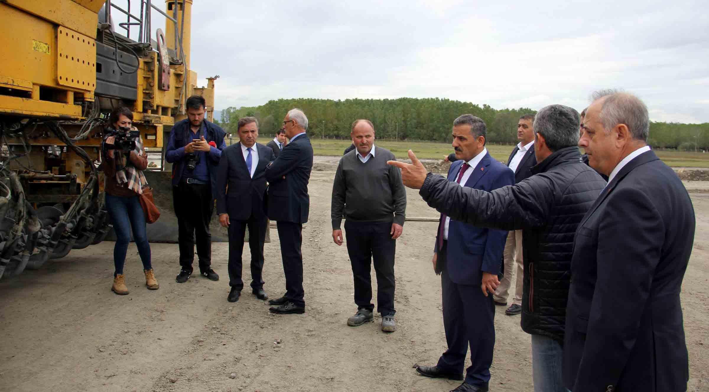 50 milyon euroluk köy 90 günde tamamlanıyor